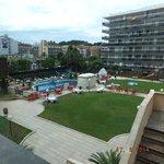 Pool and Upper sunbathing area