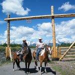 Riding at Moose Head Ranch