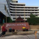 Nice big resort