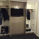 Oodles of wardrobe space