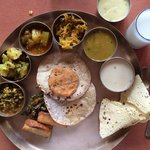 the complete thali