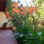 Kukuli Lodge Courtyard