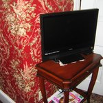 Flat Screen TV Near the Bed