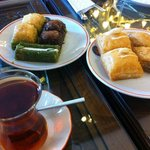 Relaxing and great baklava!