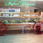 Huge salad bar!!!
