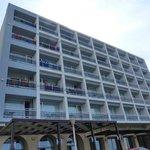 Fantastisch centraal gelegen hotel aan het strand