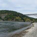 Deception Pass from the Shoreline