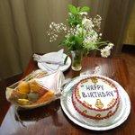 Поздравление с днём рождения от отеля