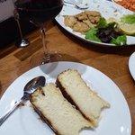 cheesecake and Pedro Ximinez-- magic!