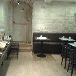 Der Speisesaal im Untergeschoss