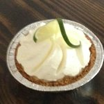 Best Key Lime Pie Anywhere. Amazing, incredible flavor. Perfect size too. The filling rocks.