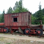 Antique rail car (not an accommodation!)