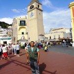 colete de quinze euros,em Capri
