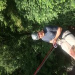 Millers Dale abseil