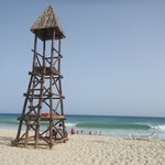 One of the watch towers at the beach