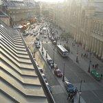 Rue de Dunkerque from balcony