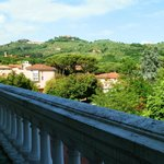 Вид с балкона на Монтекатини Альто