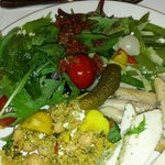 Lunch! When healthy food tastes good!