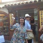 Consegui!! Encontrei o melhor gelato de Capri!!
