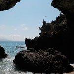 un pequeño paraiso en medio de las rocas!!!
