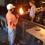 Une chouette démonstration du travail à la forge