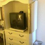 Old TV in Suite bedroom