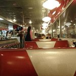 A view long-way of the diner