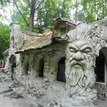 One of the houses in the 'Sprookjesbos', gnome world.