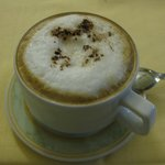 Estrelinha no cappuccino
