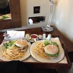 Room Service - Chicken Burger
