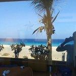 Vistas al mar desde la habitación 1041