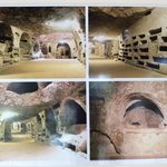 Pictures of the Catacombs at the entrance