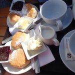 cream tea for 2