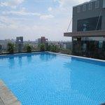 Pool auf der Dachterasse