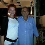 Antonella con Markos