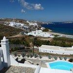 view from honeymoon deluxe suite nr. 106