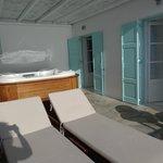 terrasse honeymoon deluxe suite nr. 106