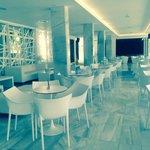 Indoor eating area