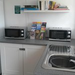 Laundry room (microwaves for guest's use)