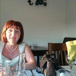 Having dinner in Ballybunnion
