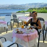 Breakfast at Valamar President, Dubrovnik. Fantastic!