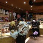 The Best Gelato store EVER! Around the corner, 30 second walk