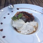 Incredible sticky toffee pudding
