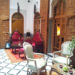 Central room of the Riad.