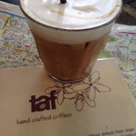 Freddo latte- yum