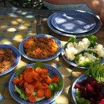 Perfecte bediening en zeer goed origineel Marokkaans eten.