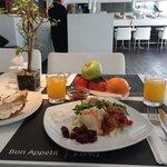 Завтрак в Savoy