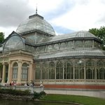 The glass Palace at Retiro Park