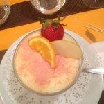 un petit dessert
