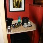 Wet Bar/Refrigerator Area
